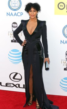 TRACEE ELLIS ROSS NAACP IMAGE AWARDS 2016 RED CARPET