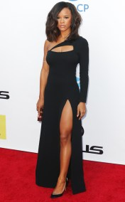 SERAYAH MCNEILL NAACP IMAGE AWARDS 2016 RED CARPET