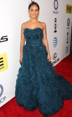 JADA PINKETT SMITH NAACP IMAGE AWARDS 2016 RED CARPET
