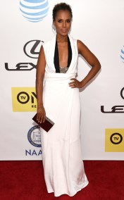 KERRY WASHINGTON NAACP IMAGE AWARDS 2016 RED CARPET