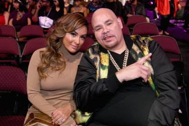 LAS VEGAS, NV - NOVEMBER 06: Recording Fat Joe (R) and guest are seen in the audience during the 2016 Soul Train Music Awards at the Orleans Arena on November 6, 2016 in Las Vegas, Nevada. (Photo by Paras Griffin/BET/Getty Images for BET)