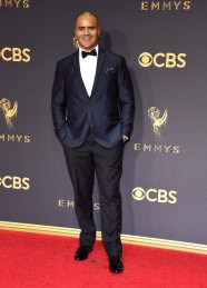 LOS ANGELES, CA - SEPTEMBER 17: Christopher Jackson attends the 69th Annual Primetime Emmy Awards at Microsoft Theater on September 17, 2017 in Los Angeles, California. (Photo by Kevin Mazur/WireImage)