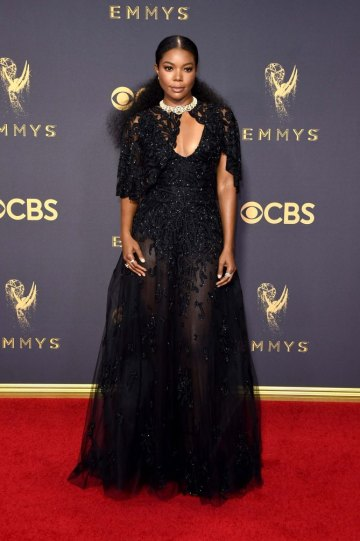 LOS ANGELES, CA - SEPTEMBER 17: Actor Gabrielle Union attends the 69th Annual Primetime Emmy Awards at Microsoft Theater on September 17, 2017 in Los Angeles, California. (Photo by John Shearer/WireImage)