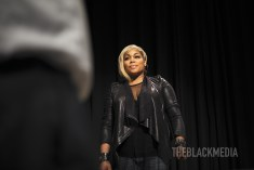 """Oct. 10, 2017 T-Boz About Her Book """"A Sick Life"""" At The Rich Auditorium In Atlanta. Photo © Tahir Register"""