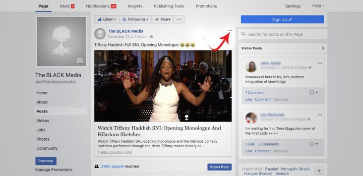 Delete Facebook Post 2017 Pages And Profiles Solutions