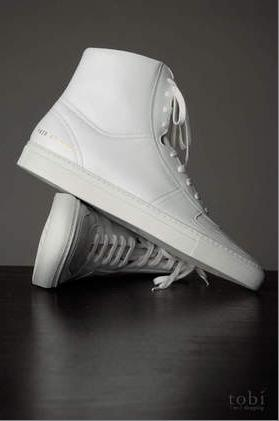 "Common Projects ""BBall"" High Tops $418"