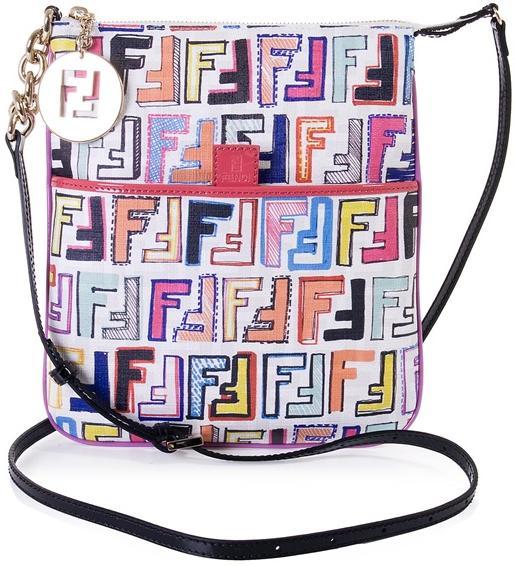 Fendi Canvas Cross-Body Bag $370