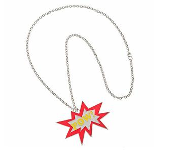 Top Man Pow Pendant Necklace $16