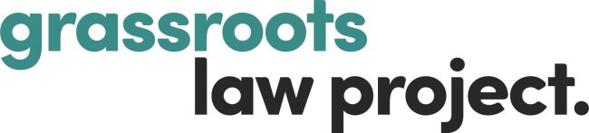 Grassroots law project logo