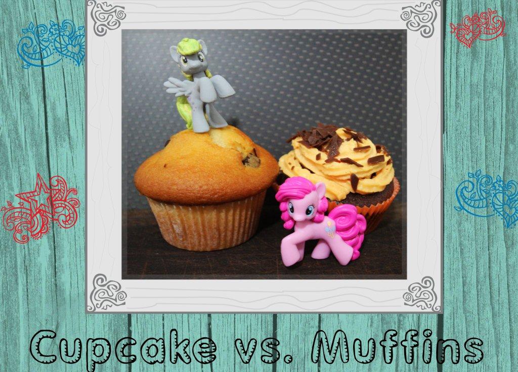 Cupcake Vs. Muffins