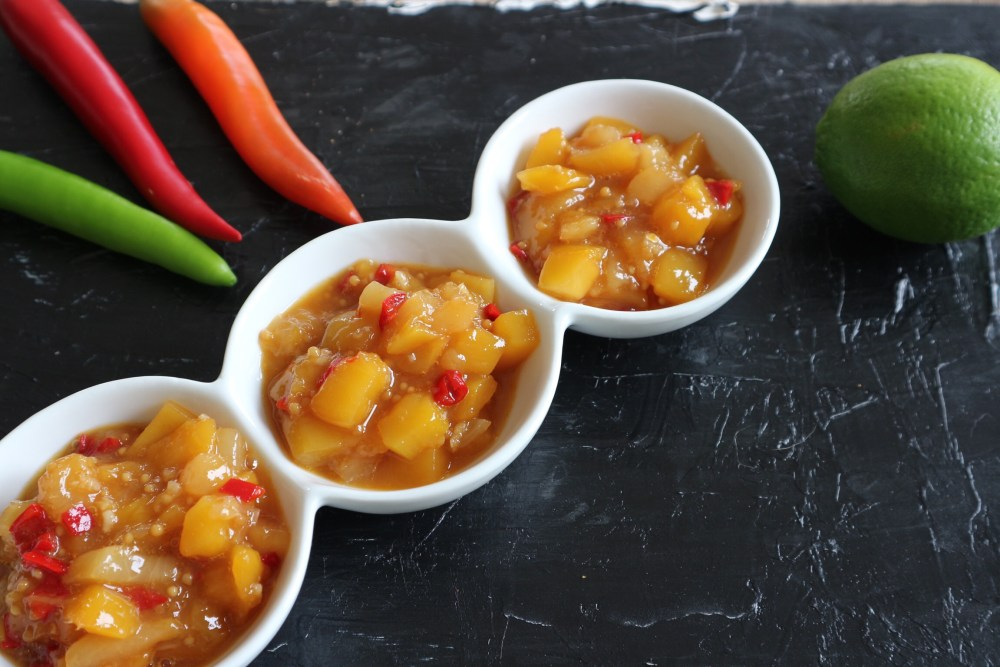 Mango-Pfirsich Chutney