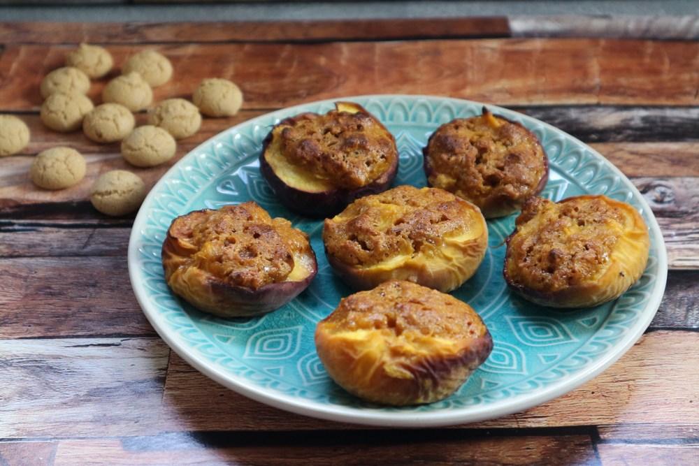Gefüllte Pfirsiche