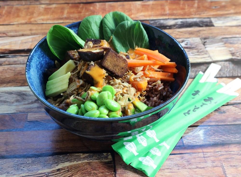 Sushi Bowl mit Tofu