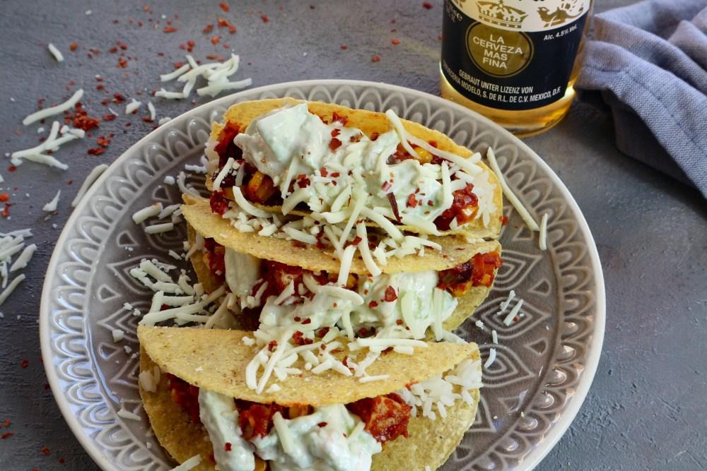 Tacos mit Knusper-Tofu