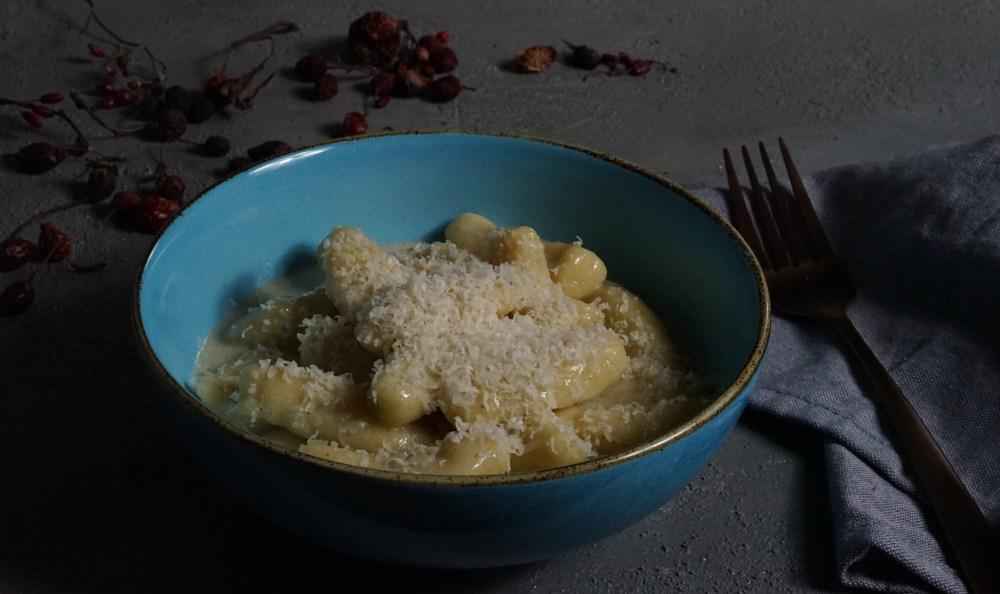Gnocchi mit Gorgonzola Sosse