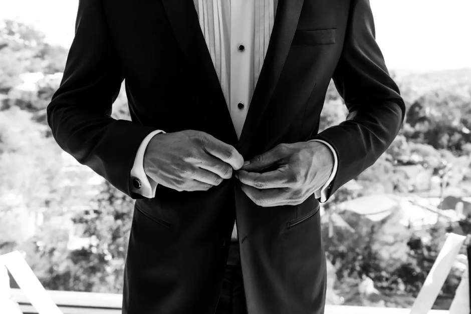 Using a suit jacket size chart can help you find the proper fit.
