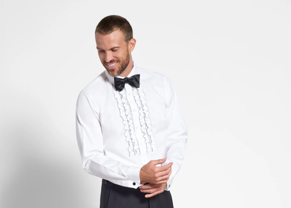 2ad74dd6e66b32 Tuxedo Shirt Styles for 2019: A Complete Guide