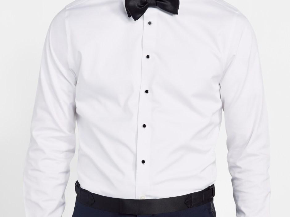 Tuxedo shirt fit: body