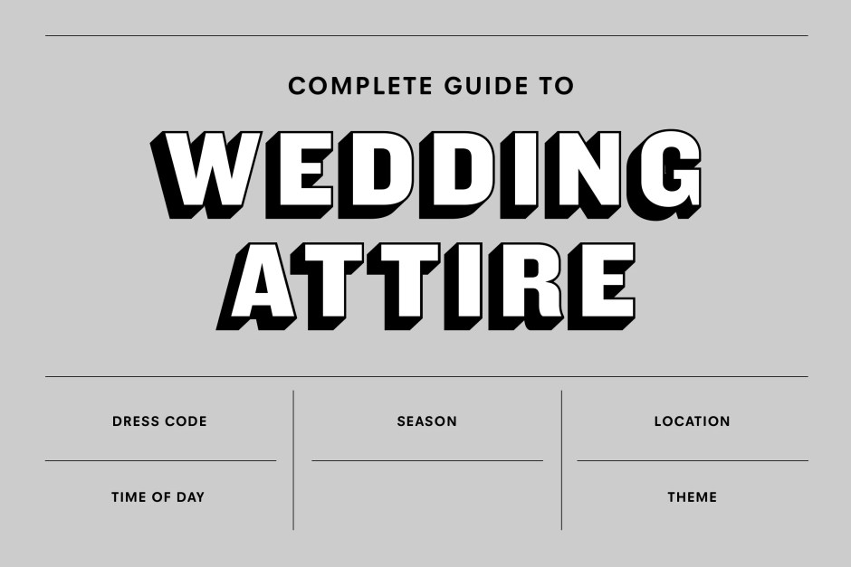 Men's Wedding Attire: The Complete Guide for 2018