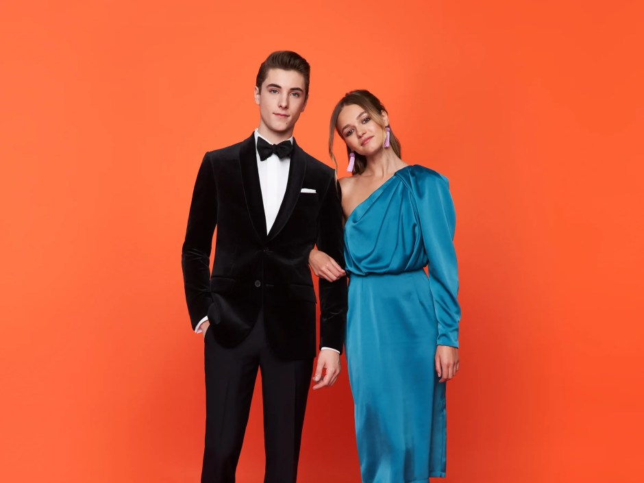 Our velvet jacket tuxedo, just one of our many prom tux ideas for 2020.