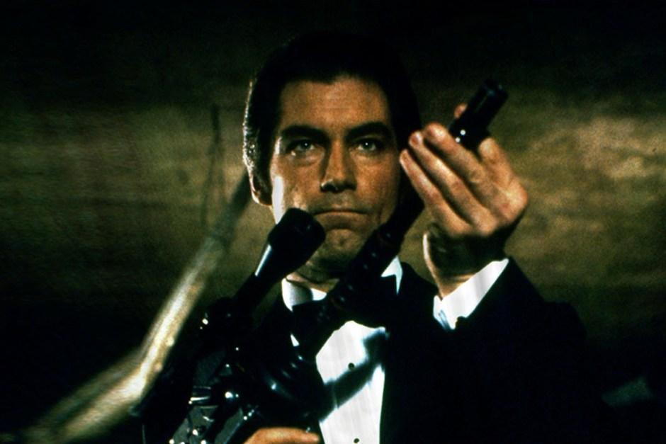 James Bond preparing to use his License to Kill.