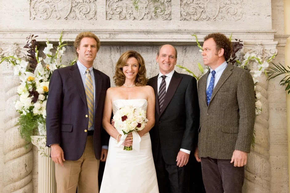 Family wedding photo from Step Brothers.