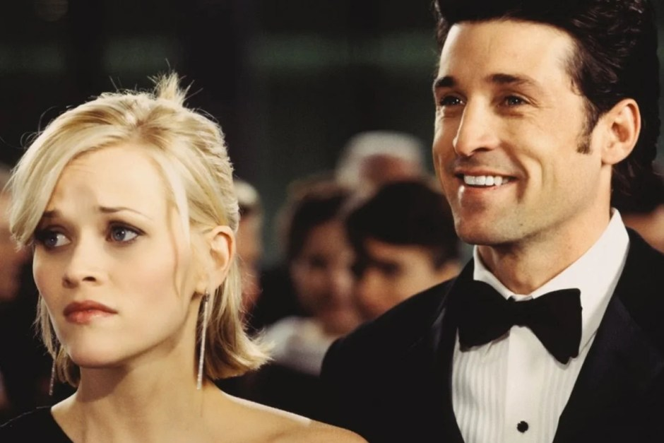 Reese Witherspoon and Patrick Dempsey in Sweet Home Alabama.