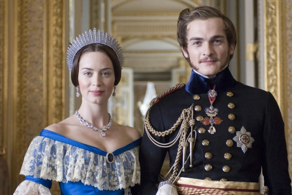 Emily Blunt in The Young Victoria.