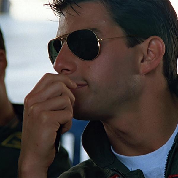 Tom Cruise Ray-Ban Aviators.
