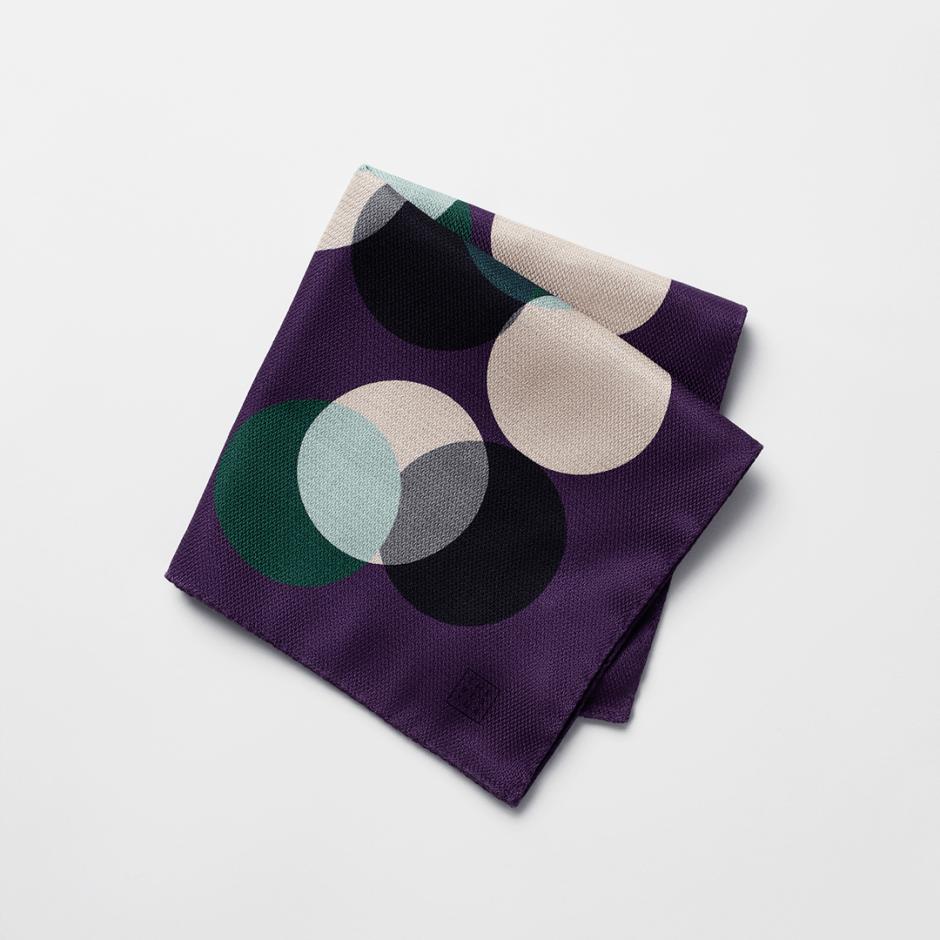 Unique pocket square by The Black Tux