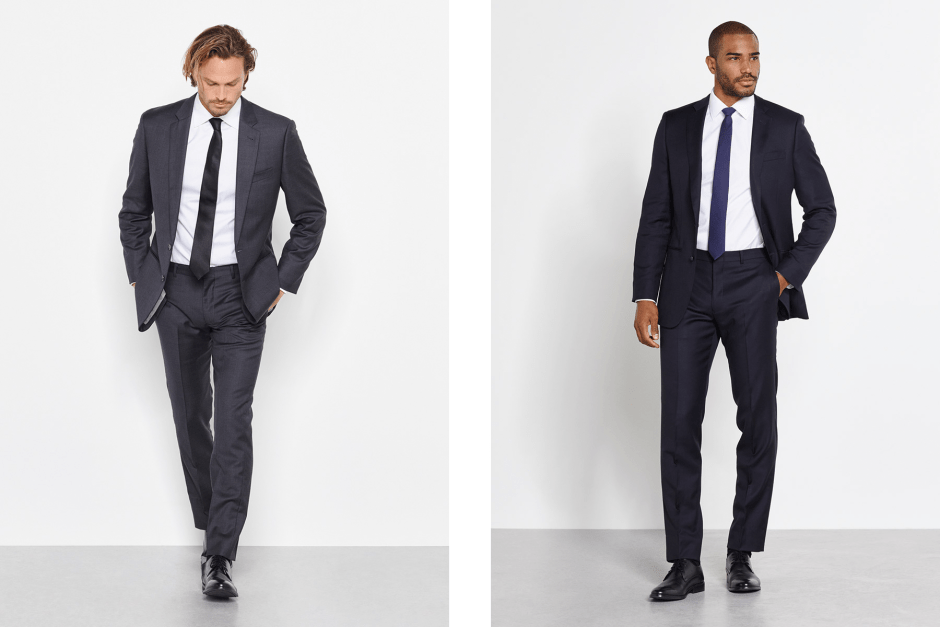 Men's cocktail attire suits