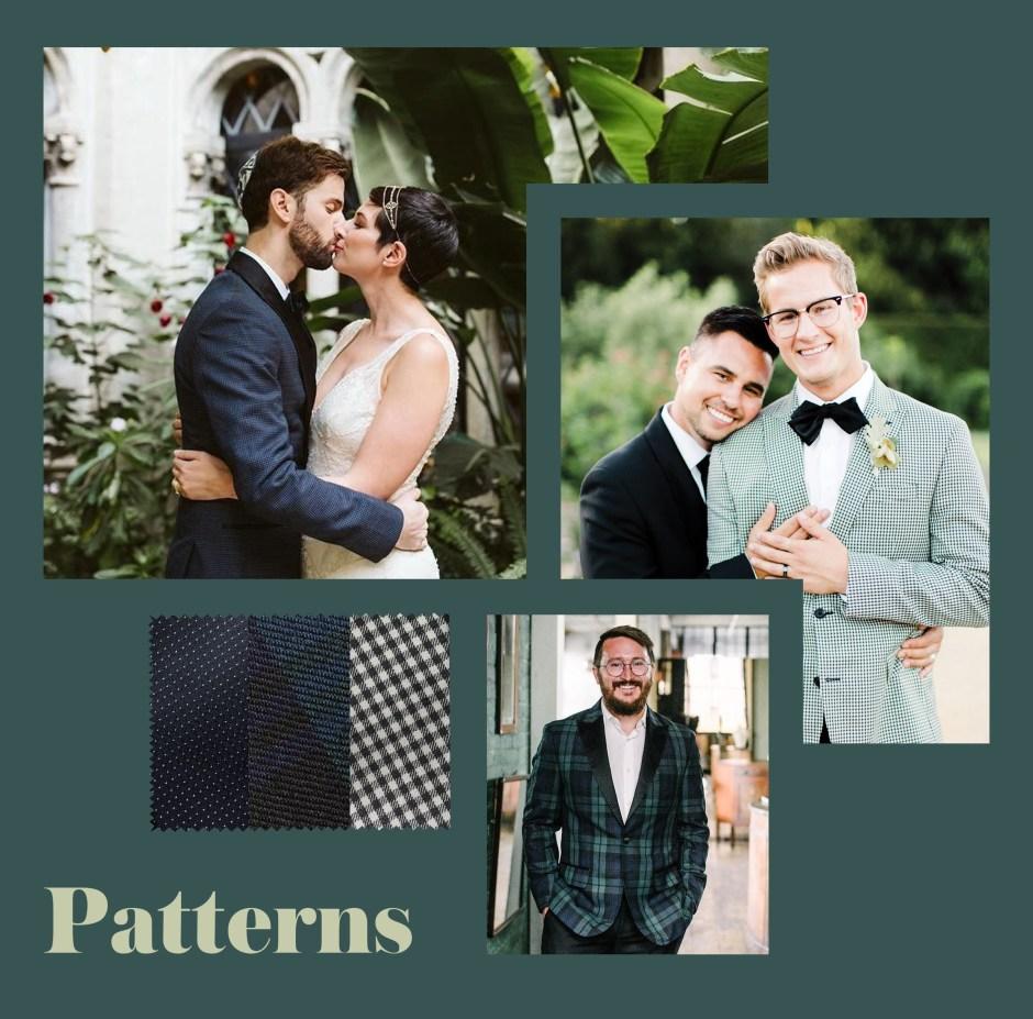 fall wedding attire patterns