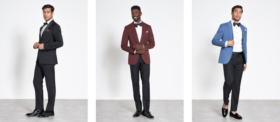 the black tux holiday collection tuxedos