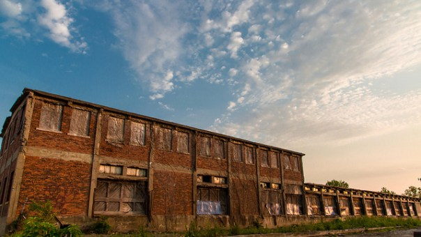 Abandoned Factory by Flickr user mutrock