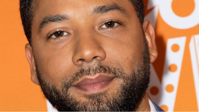 Jussie Smollett charged with felony for allegedly faking hate crime