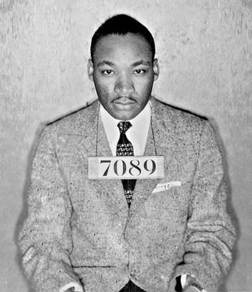 Eastern State Penitentiary MLK Mug Shot