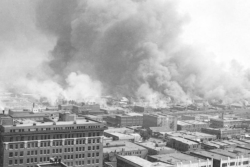 Black Wall Street Greenwood Massacre