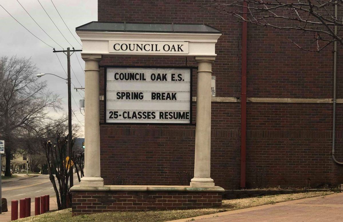 Council Oak Elementary, 100 Years In The Making