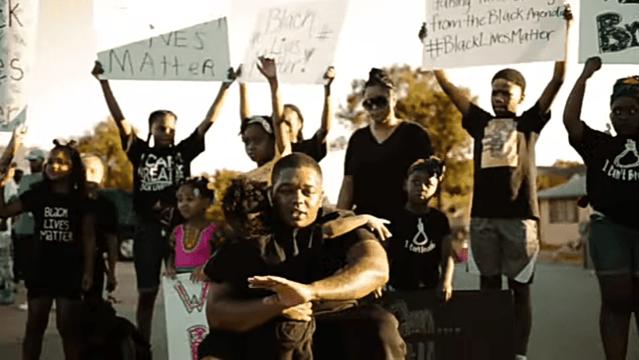 Black Power Music Video in Lawton, Okla.