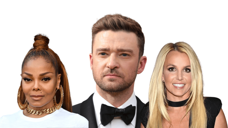 Janet Jackson Justin Timberlake Britney Spears