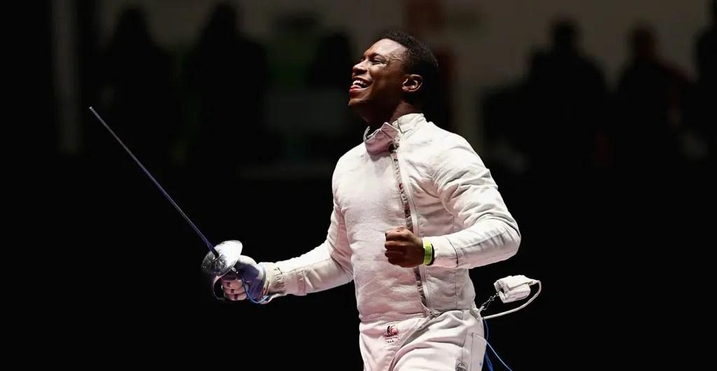 fencing daryl homer tokyo olympics
