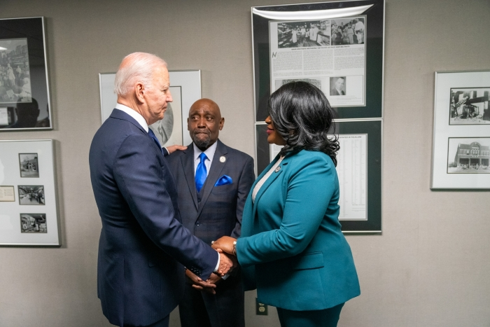 biden Dr. Crutcher letter Dr Tiffany Crutcher George Floyd Justice in Policing Act terence crutcher foundation