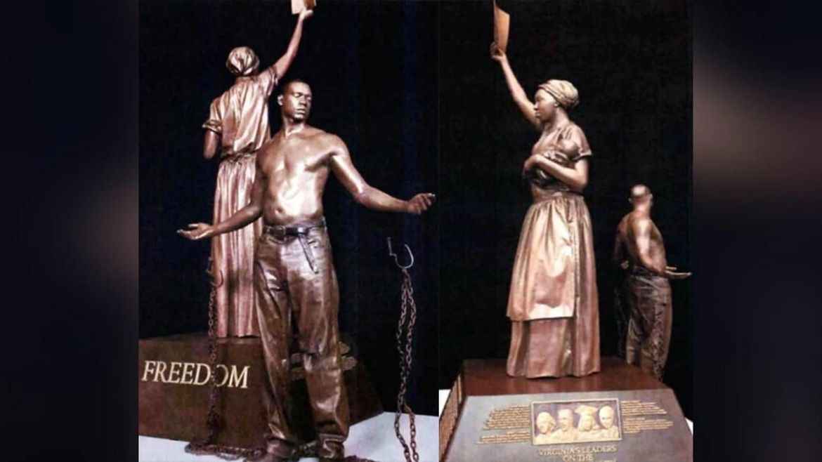 virginia emancipation and freedom monument confederate statues