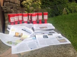 2015 Thursday 11th June launch of Blantyre Telegraph newspaper