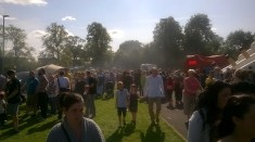 High Blantyre Gala Day 5th Sept Busy crowds (PV)