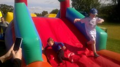 High Blantyre Gala Day 5th Sept Inflatable fun (PV)