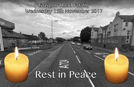 fatality Glasgow Road