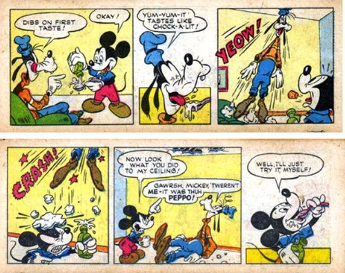 Last year I wrote about Mickey Mouse's suicide...