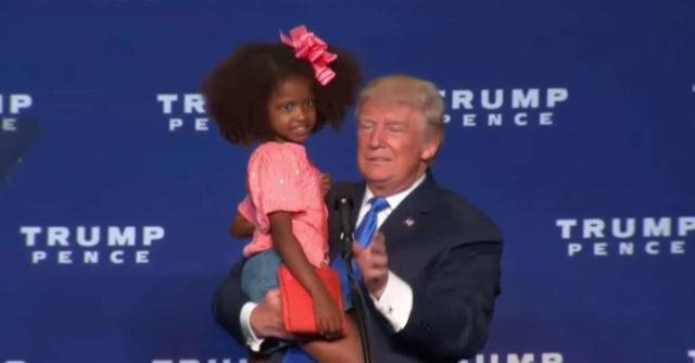 Non c è un bambino vivo che voglia baciare Donald Trump