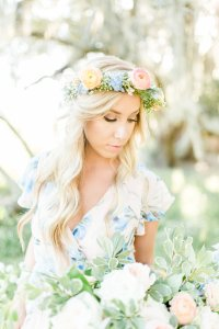 florals, engagement, flowy dress, weddings